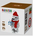 Loz diamond block Toys  Funny Christmas Series, Christmas bear