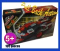 Pulzza Pull Back action racing car 105 pieces