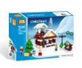 Loz Diamond block Toys - City series Chritmas Winter Toy Shop