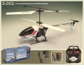 SYMA S001 RC 3CH Helicopter Radio Control 3 Channel Heli with Li-Poly Battery