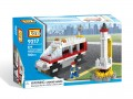 Loz Diamond block Toys - City series, Satellite Launch