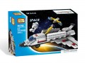 Loz Diamond block Toys - City series, Space Shuttle
