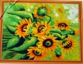 Paint by Number Kit -  Sun Flower