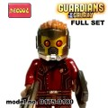 Decool minifigure - The Guardians of the Galaxy Series Full Set NO PACKING BOX
