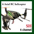SH 6 axis 4 channel RC helicopter