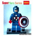 Decool minifigure Block Toys - Superhero series, Captain American