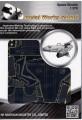 Metal Laser Etching 3D metal steel - USA Space Shuttle 1:370