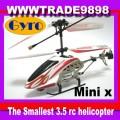 3CH 3.5-CH SH RC 12cm minix IR METAL HELICOPTER + GYROSCOPES