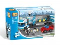 Loz Diamond block Toys - City series, Mobile Police Unit