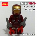 Decool minifigure - Ironman series III, Mark 35 Red Snapper
