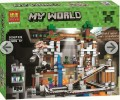 Minecraft My World Block Toy Scene set - THE DEEP CAVE