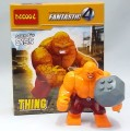 Decool minfigure, Super Hero series, Red THING Set