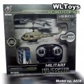 WL Toys RC Remote Control MILITARY HELICOPTER