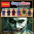 Decool minifigure -Super Heroes series V, Full set