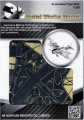 Metal Laser Etching 3D metal steel - de Havilland Tiger Moth 1:80