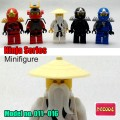 Decool minifigure - Ninja series I, Full set