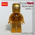 Decool minifigure - Ironman series III, Mark 21