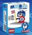 Linkgo MikiBrix mini series - Doraemon Captain American