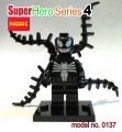 Decool minifigure -Super Heroes series IV, VENOM