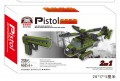 Pistol Block Toys Gun Desert Eagle 2 IN 1, Real Scale 1:1