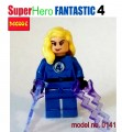 Decool Minfigure, Super Hero series, Fantastic 4, Invisible Woman No Package Box