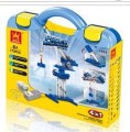 Educational Remote control RC Power Machine 3 IN 1 package 173pcs