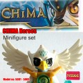 Decool minifigure - Chima series, 9 minifigure included, No Package Box