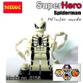 Decool Minfigure, Super Hero series, Fantastic 4 WINTER MODE, Spiderman No Package Box