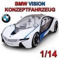 RADIO CONTROL MJX 1:14 BMW CONCEPT VISION EFFICIENT I8  8545WH