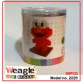 Weagle mini block toys - cartoon & animal - Elmo