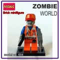 Decool minifigure - Zombie World, Emmet