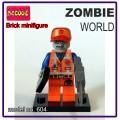 Decool minifigure - Zombie World, Emmet