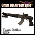 Pump action BBs airsoft rilfle