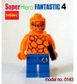 Decool Minfigure, Super Hero series, Fantastic 4, Thing No Package Box