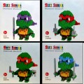 Loz dismond block - Ninja turtles Set, 4 Ninja turtles