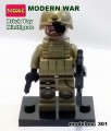 Decool minfigure, Modern War series, NAVY SEALS No Package Box