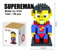 Loz Diamond block toys - cartoon & aninmal - Superman style