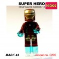 Decool minifigure Series 12 - Ironman Mark 43 NO PACKING BOX