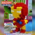 BALODY Serial Block Toy, Cartoon Series,, Ironman 411pcs