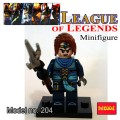 Decool minifigure - League of Legends Series XinZhao NO PACKING BOX