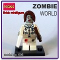 Decool minifigure - Zombie World, Nurse