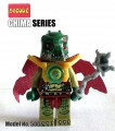 Decool minifigure - Chima series, Cragger, No Package Box