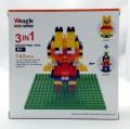 Weagle diamond block toy Garfield oh