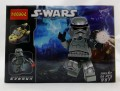 Decool minifigure S-War Series Shadow Storm Trooper NO PACKING BOX