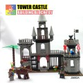 WOMA Building Block Toy - PIRATES SERIES, Tower Castle
