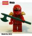 Decool minifigure - Ninja series, Nrg Kai, No Package Box