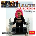 Decool minifigure - League of Legends Series Katarina NO PACKING BOX