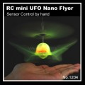 RC mini UFO Nano Flyer (Sensor Control by hand) No.1204