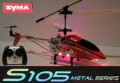 3 channel  MINI R/C RC SYMA S105 METAL IR HELICOPTER