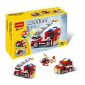 Decool Bricks toys - Architect series, 3 IN 1 Fire Truck